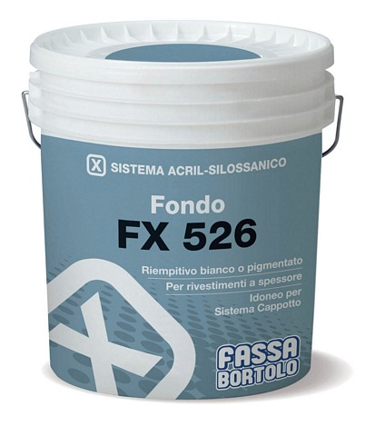FASSA PRIMER FX526  Pigmented primer undercoat White 14l (Available to be tinted to a wide range of colours, please call for more information.)