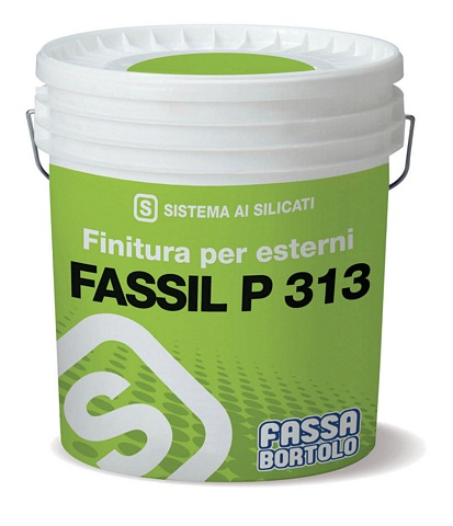 FASSIL P313 -Smooth silicate water-based paint for interiors and exteriors 14L (Available to be tinted to a wide range of colours, please call for more information)