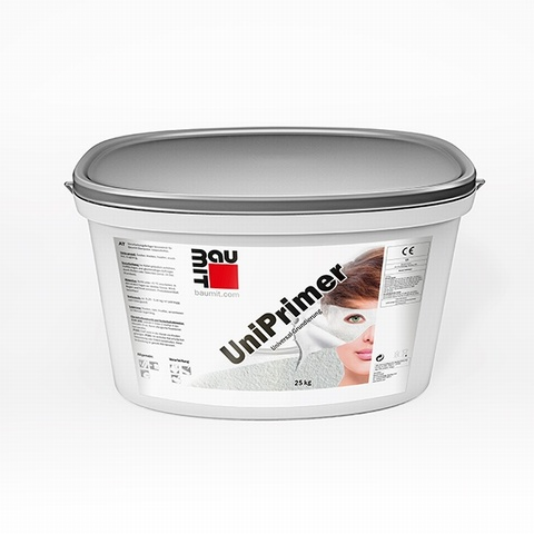 Baumit UniPrimer 25kg  is a universal surface primer formulated for external use